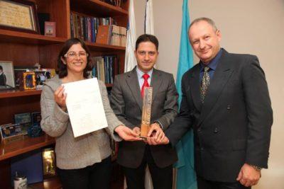 ראש העיר באר שבע ומהנדסיה, מחזיקים באות העיצוב