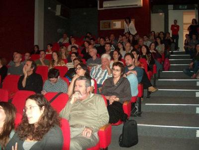 קהל של 80 אנשים, בטקס אות העיצוב הראשון