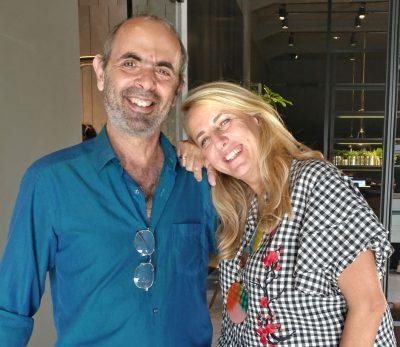 פטרישיה אורקיולה (עם גיורא אוריין), משתלבת בפעילות אות העיצוב